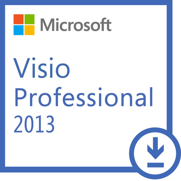 MS Visio Professional 2013 Windows - 1 Install