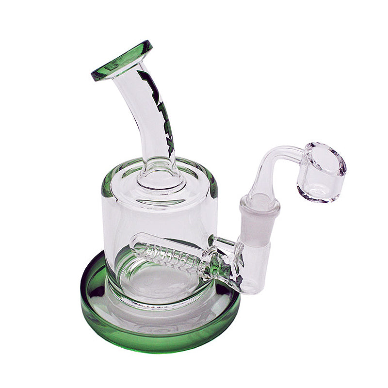 "Apex 4"" Mini Inline Glass Concentrate Rig with Banger"