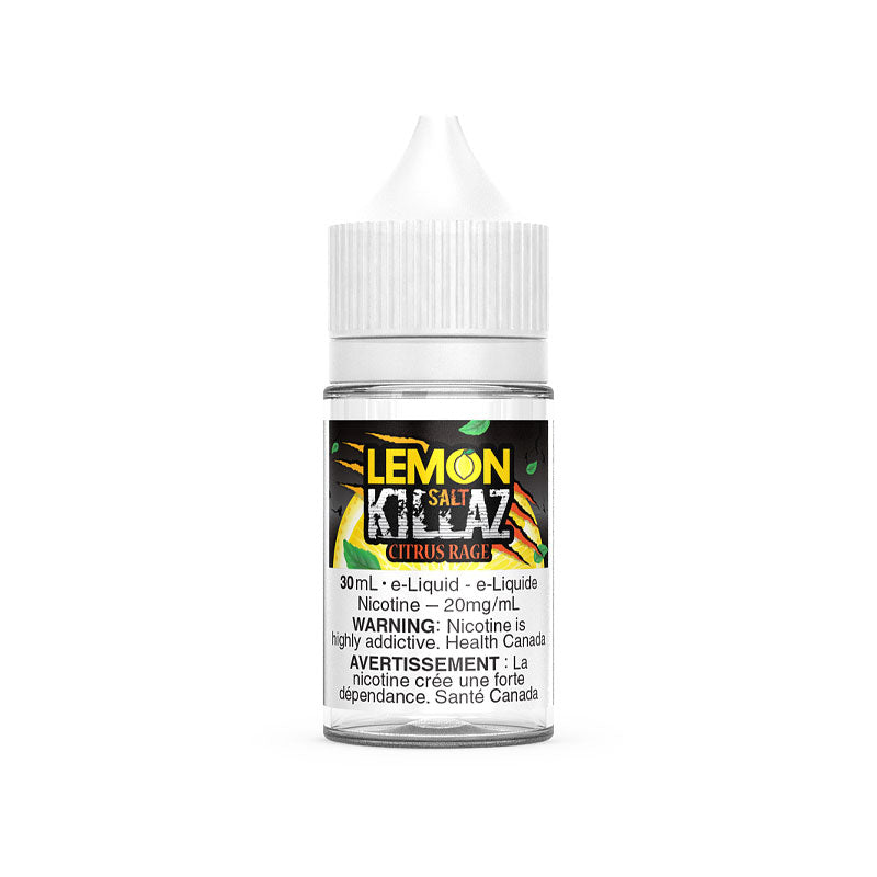 Lemon Killaz Salt - Citrus Rage 30mL