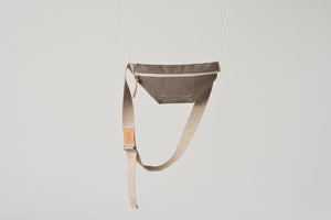 HIP BAG taupe mesh