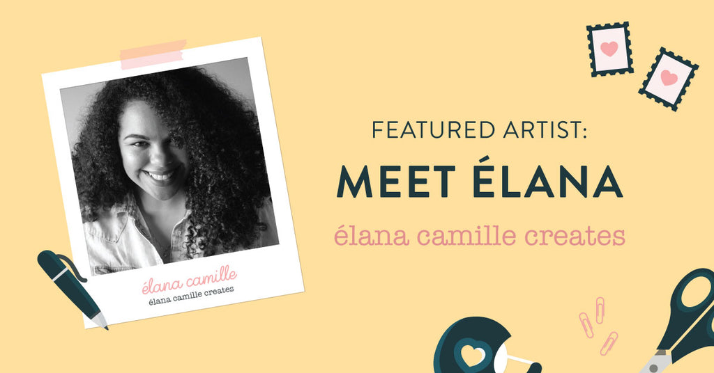 Mail's Here: Lifestyle and fashion illustrator Élana Camille shares her creative journey & passion for travel