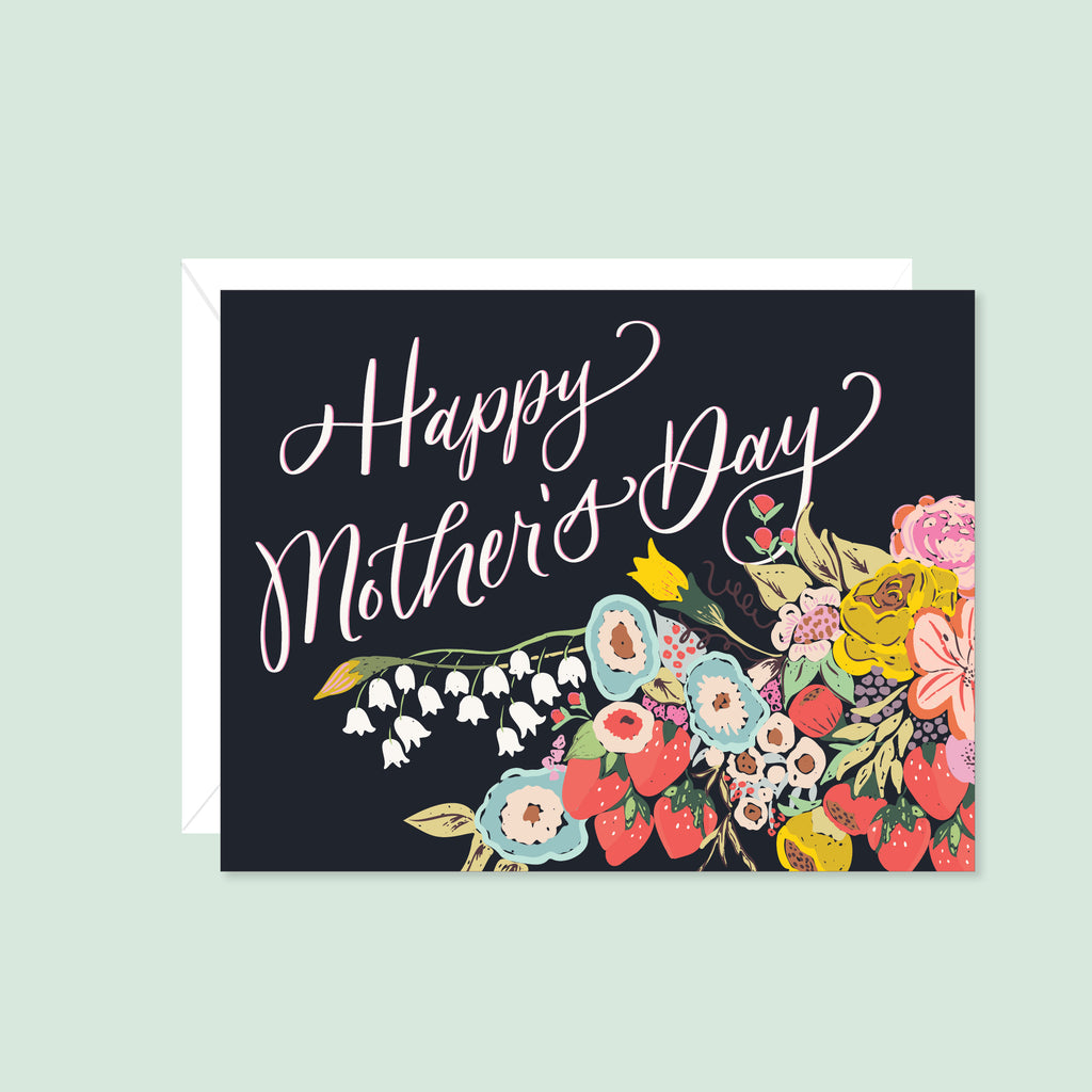 Happy Mother's Day (Dark Floral)