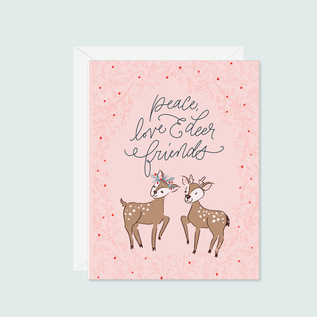 Peace, Love & Deer Friends
