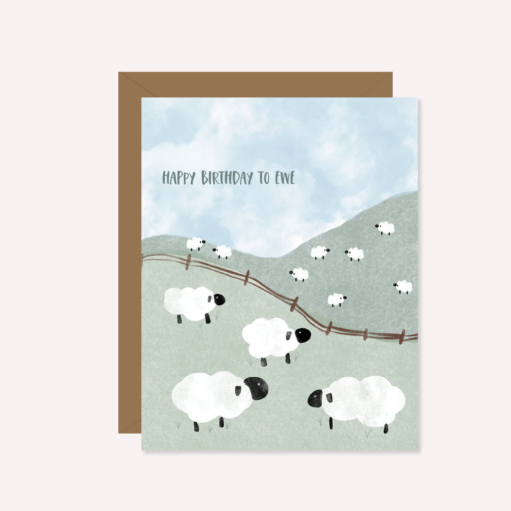 Happy Birthday to Ewe