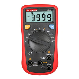 Meterman 15XR Auto Range Digital Multimeter AC DC Frequency Resistance Tester