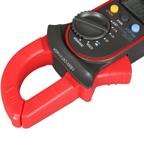 Meterman 202A Auto-Ranging AC DC 600 Amps Auto/Manual Range Digital Handheld Clamp Meter Multimeter Test Tool