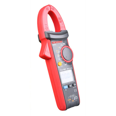 Meterman UT216C 600A Digital Clamp Meters NCV V.F.C Diode LCD Display Work Light Temperature Test AC DC Auto Range Multimeters