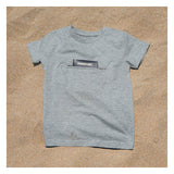 Kids tee with secret pocket