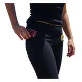 Ladies travel leggings with 2 pockets