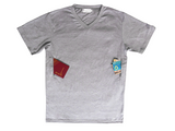 T-shirt with 2 secret pockets
