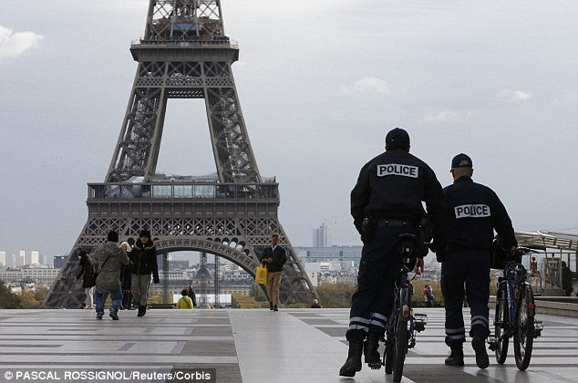 Eiffel Tower Police