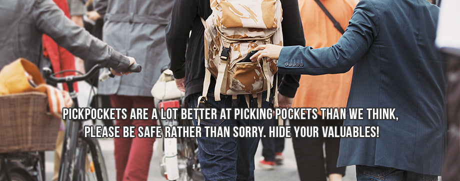 Clever Travel Companion - pickpocket & loss proof travel gear