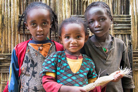 Kids in Ethiopia
