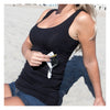 Unisex Tank Top with 2 Secret Pockets