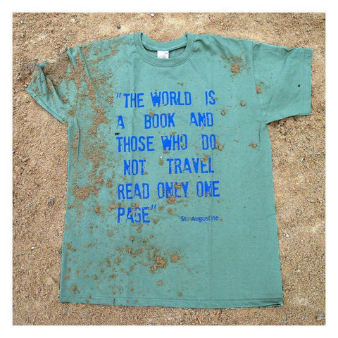 Travel Quote T-shirts (superior quality)