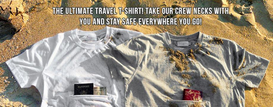 Clever Travel Compion Crew Neck T-Shirts