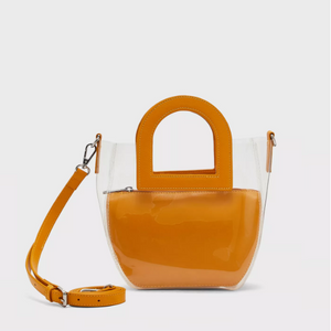 Sac transparent Jaune