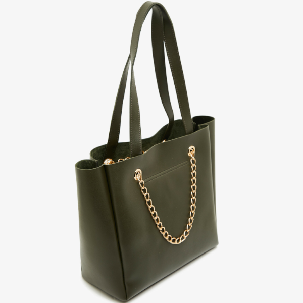 Shoulder bag kaki