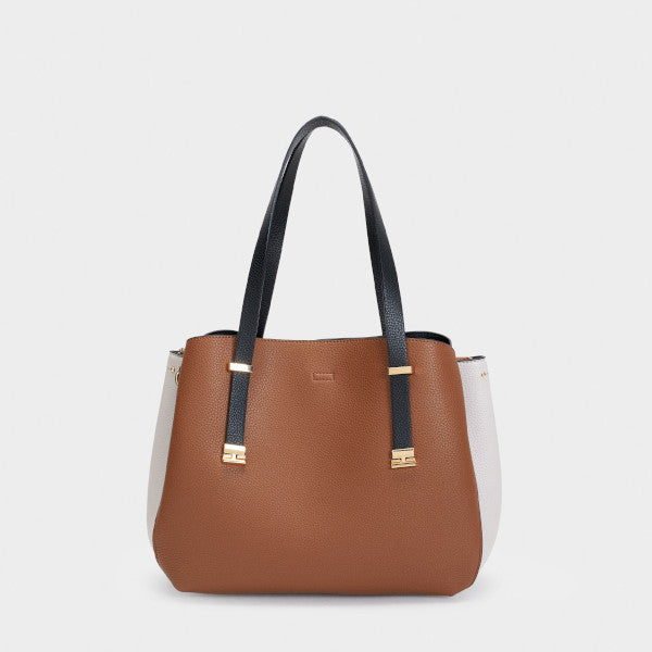 joudie shopper bag Marron Clair