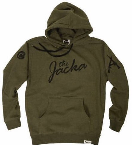 FINAL SALE! Jacka x Cookies Hoodie - Army Green