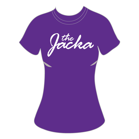 JACKA T-Shirt Womens Purple