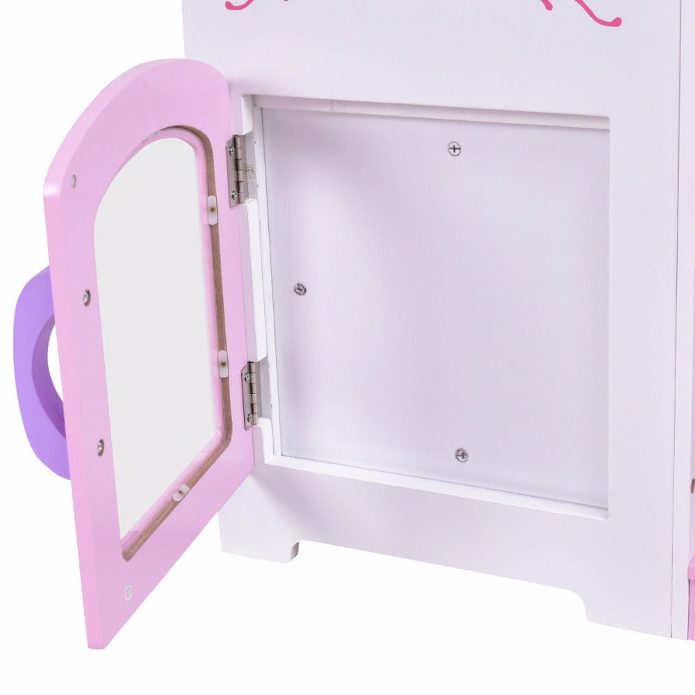 2 in 1 Childs Kitchen Play Set With Chair - uniquelyfurniture.com