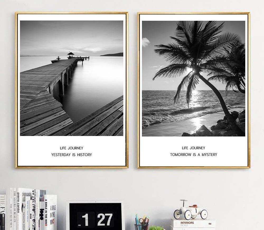 Beach Sunset Canvas - uniquelyfurniture.com