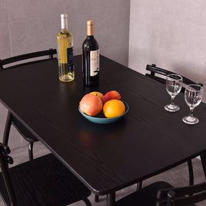 5 Piece Dining Set Table and 4 Chairs - uniquelyfurniture.com