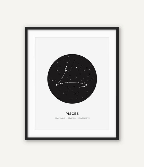 Constellation Canvas Picture