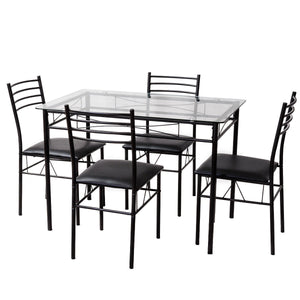 5PC Dining Room Table - uniquelyfurniture.com