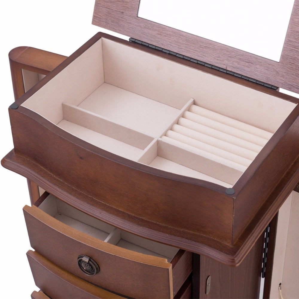 Large Jewery And Beauty Storage Cabinet - uniquelyfurniture.com