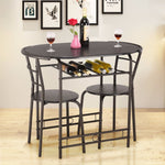 Dining Set Table and 2 Chairs - uniquelyfurniture.com