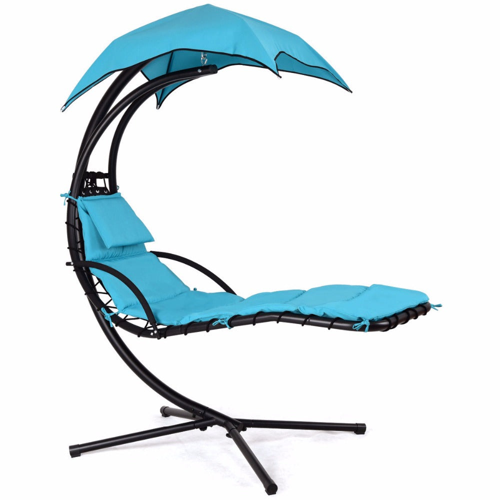 Hanging Chaise Lounger Chair - uniquelyfurniture.com