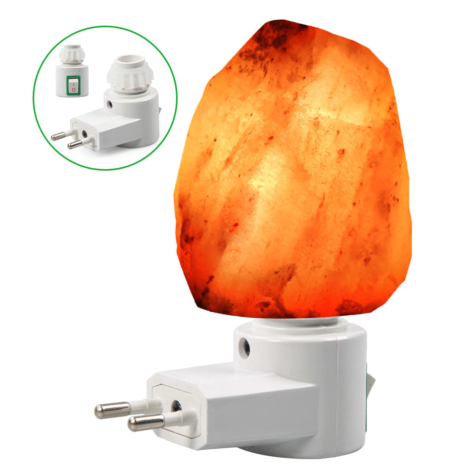 Mini Hand Calved Night Light Salt Lamp - uniquelyfurniture.com