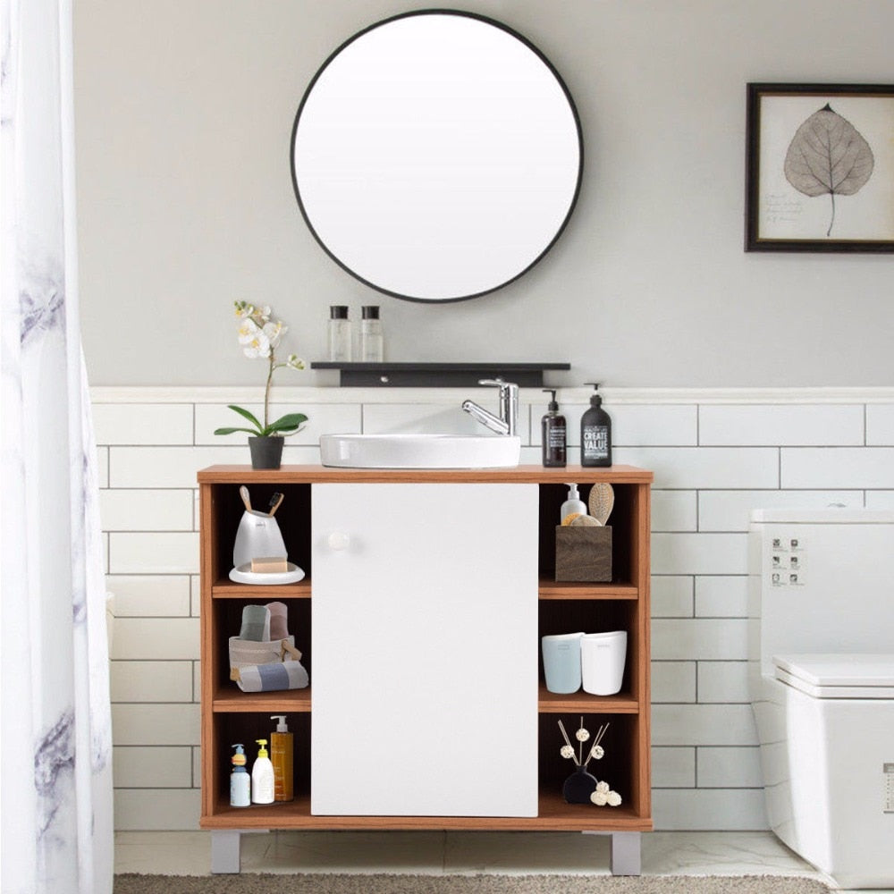 Under Sink Bathroom Cabinet - uniquelyfurniture.com