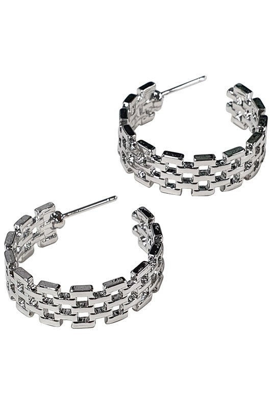 Brit Hoop Earrings