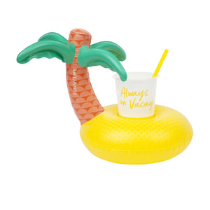 Inflatable Drink Holder - Tropical Island