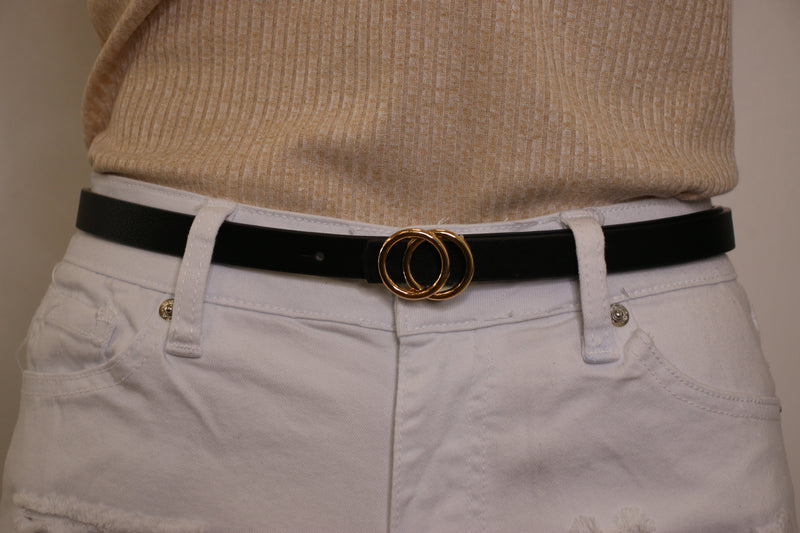 Claire Double Circle Belt