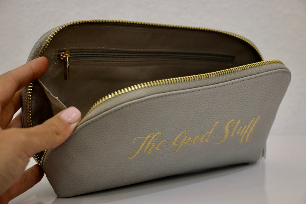 """The Good Stuff"" Cosmetic Case"
