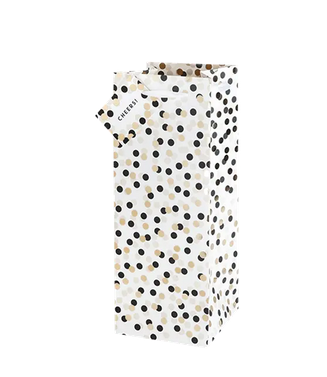 Polka Dots Single Wine Bag