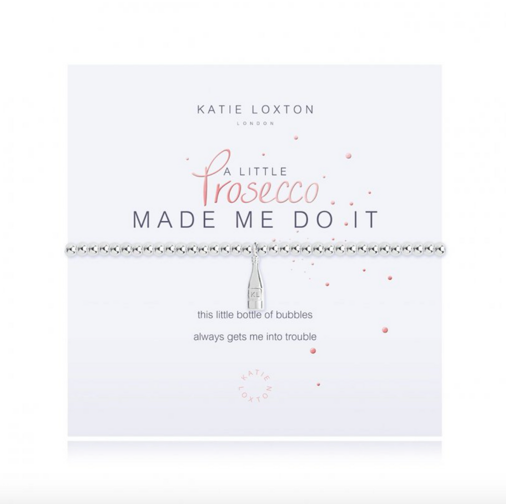 Katie Loxton - Prosecco Made Me Do It Bracelet