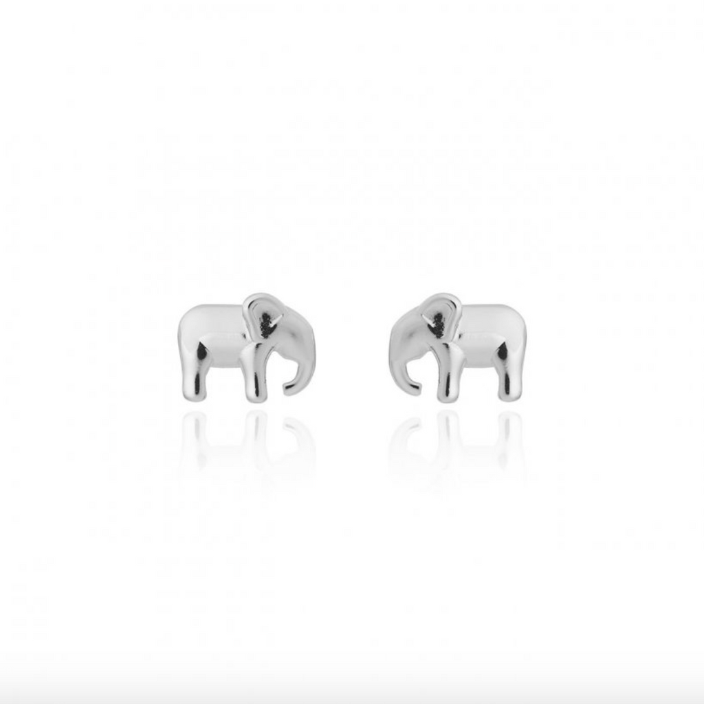 Katie Loxton - Elephant Boxed Stud Earrings