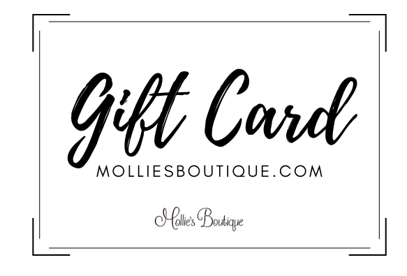 Mollie's Boutique Online Gift Card