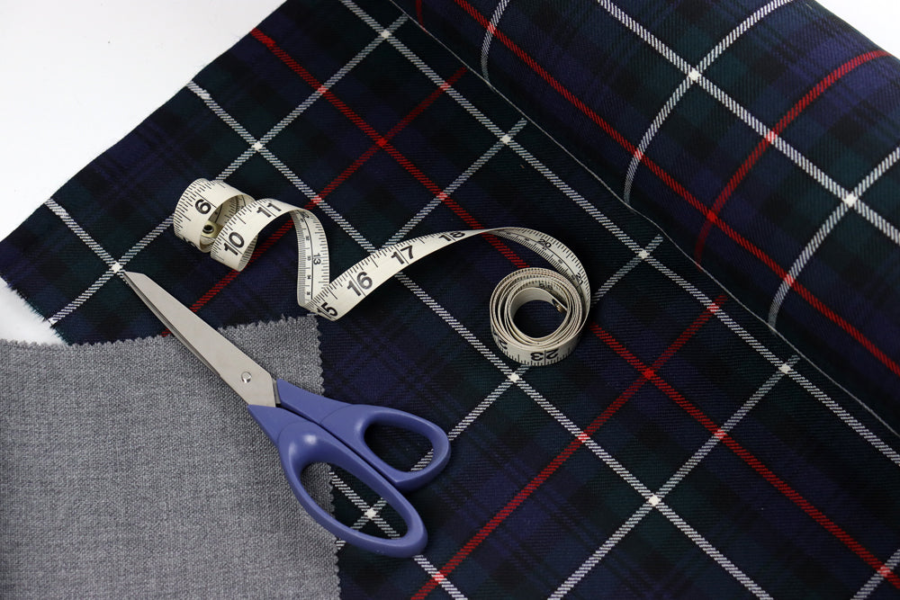 Tartan Fabric for Bespoke Design