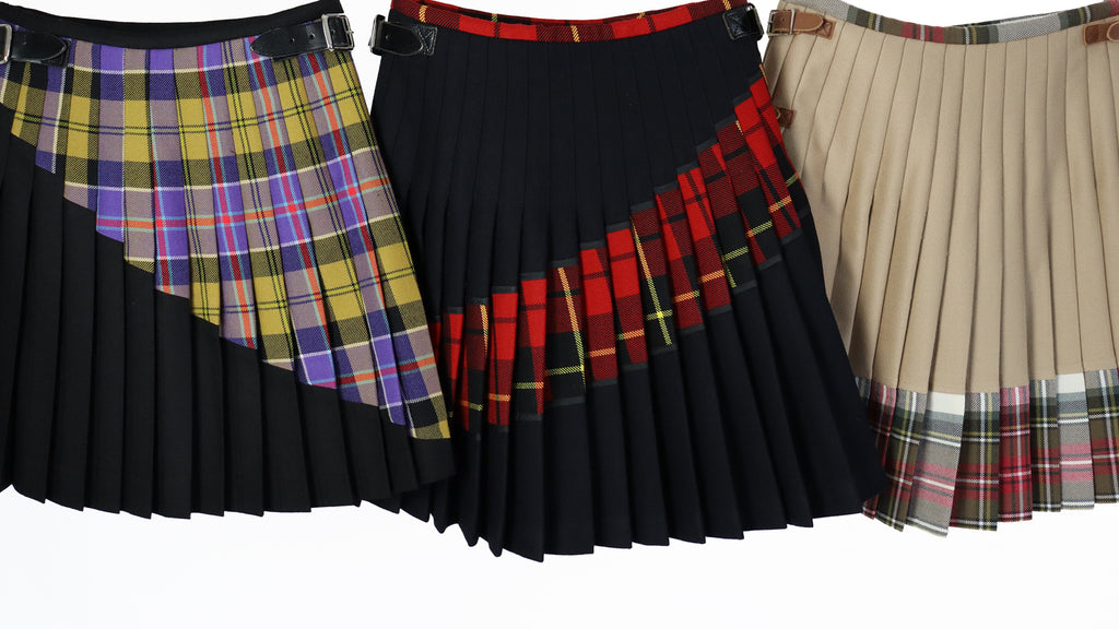 Womenswear Contemporary Tartan Kilts