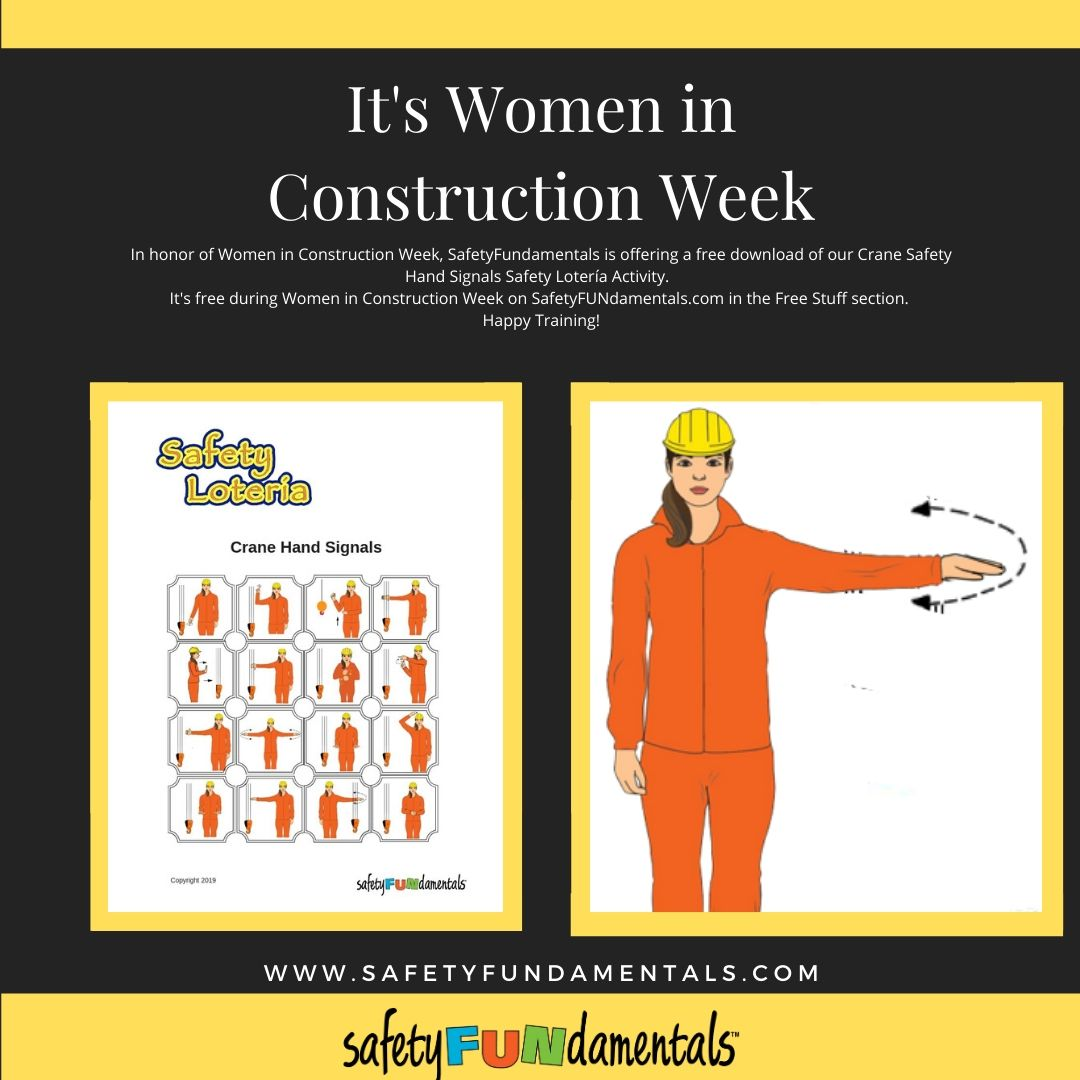 In Honor of Women In Construction Week