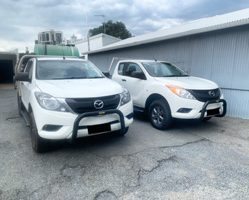MAZDA BT50 (10/2011 - ON) 76MM NUDGE BAR (GCB)