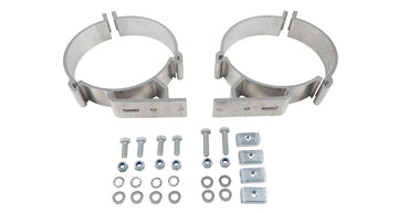 Rhino-Rack 150mm Conduit Clamps (x2)