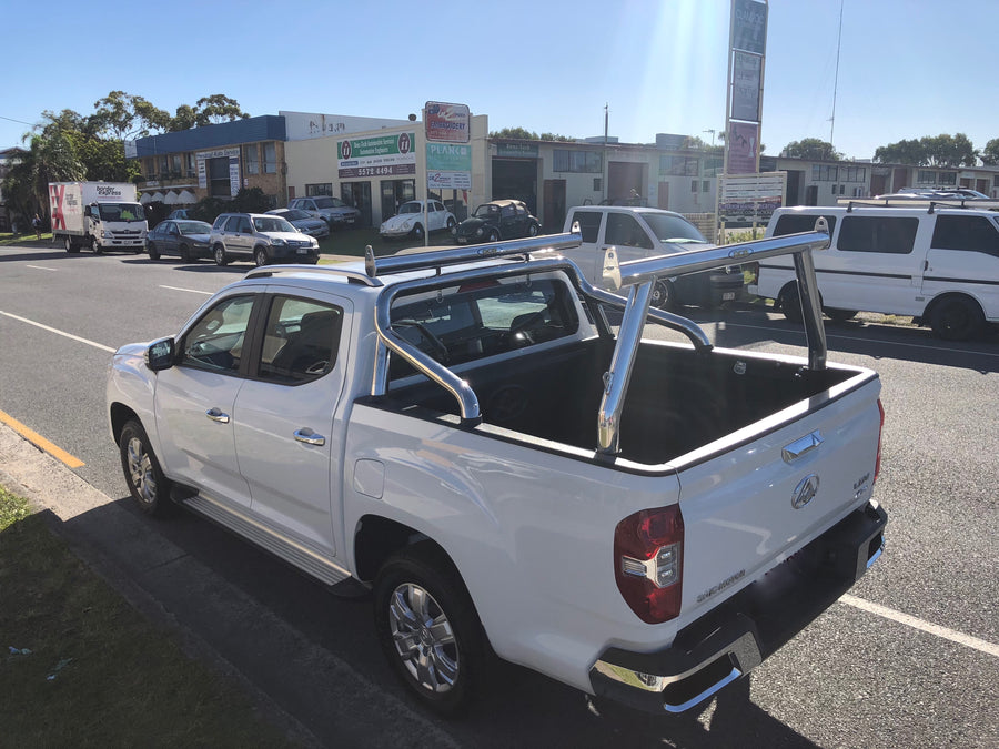 LDV T60 Ute Rack & Sportsbar Extension (with accessory channel)