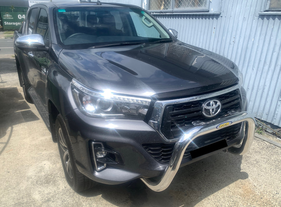 TOYOTA HILUX (07/2015 - ON) 76MM NUDGE BAR (GCB)